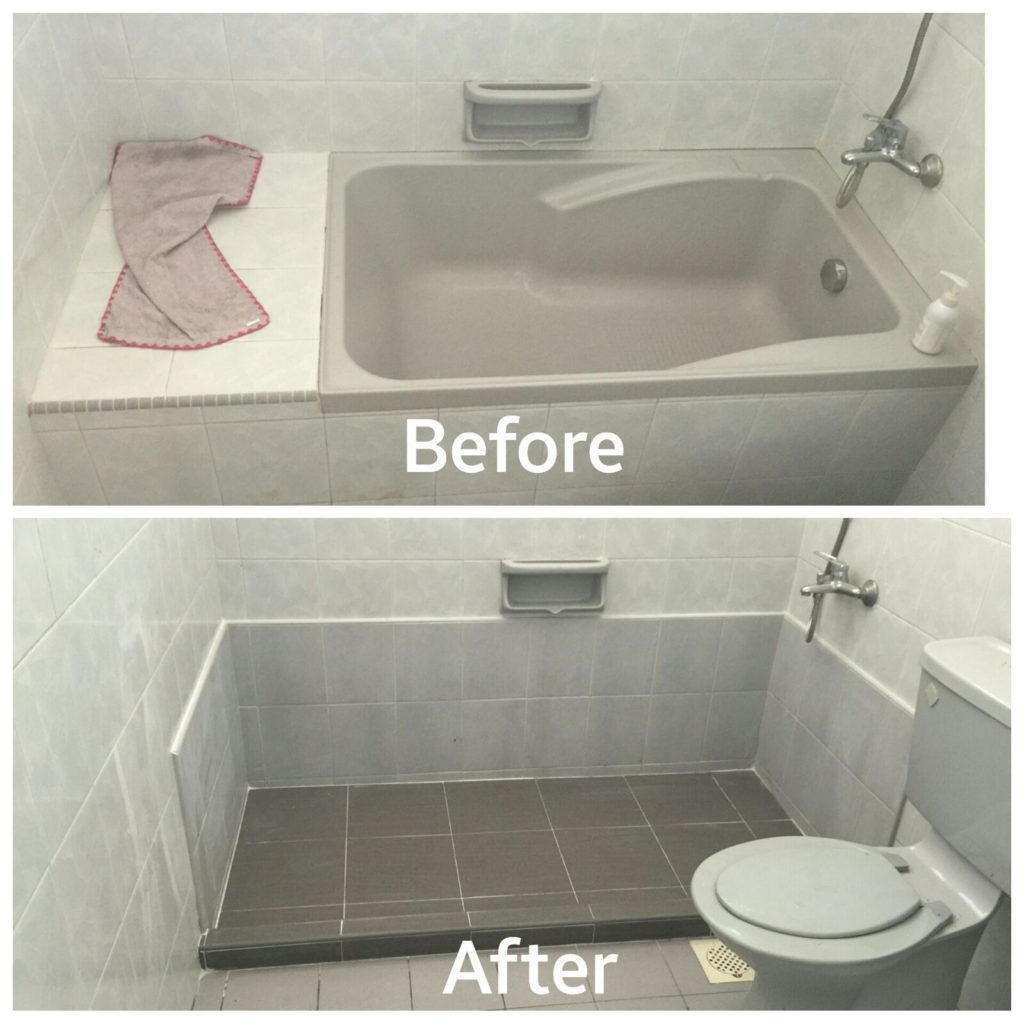 Bathtub Removal Works (Hacking) | Toilet & Bathroom Renovation Singapore