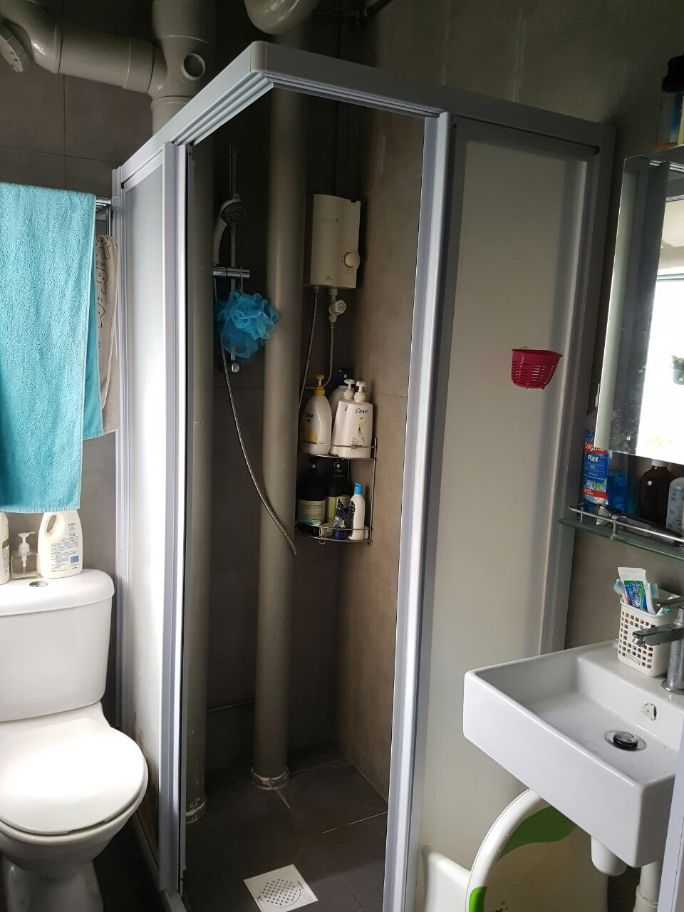 Toilet Shower Screen Toilet Amp Bathroom Renovation Singapore